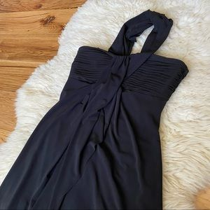 Max and Cleo One Shoulder Dress Black Size 4